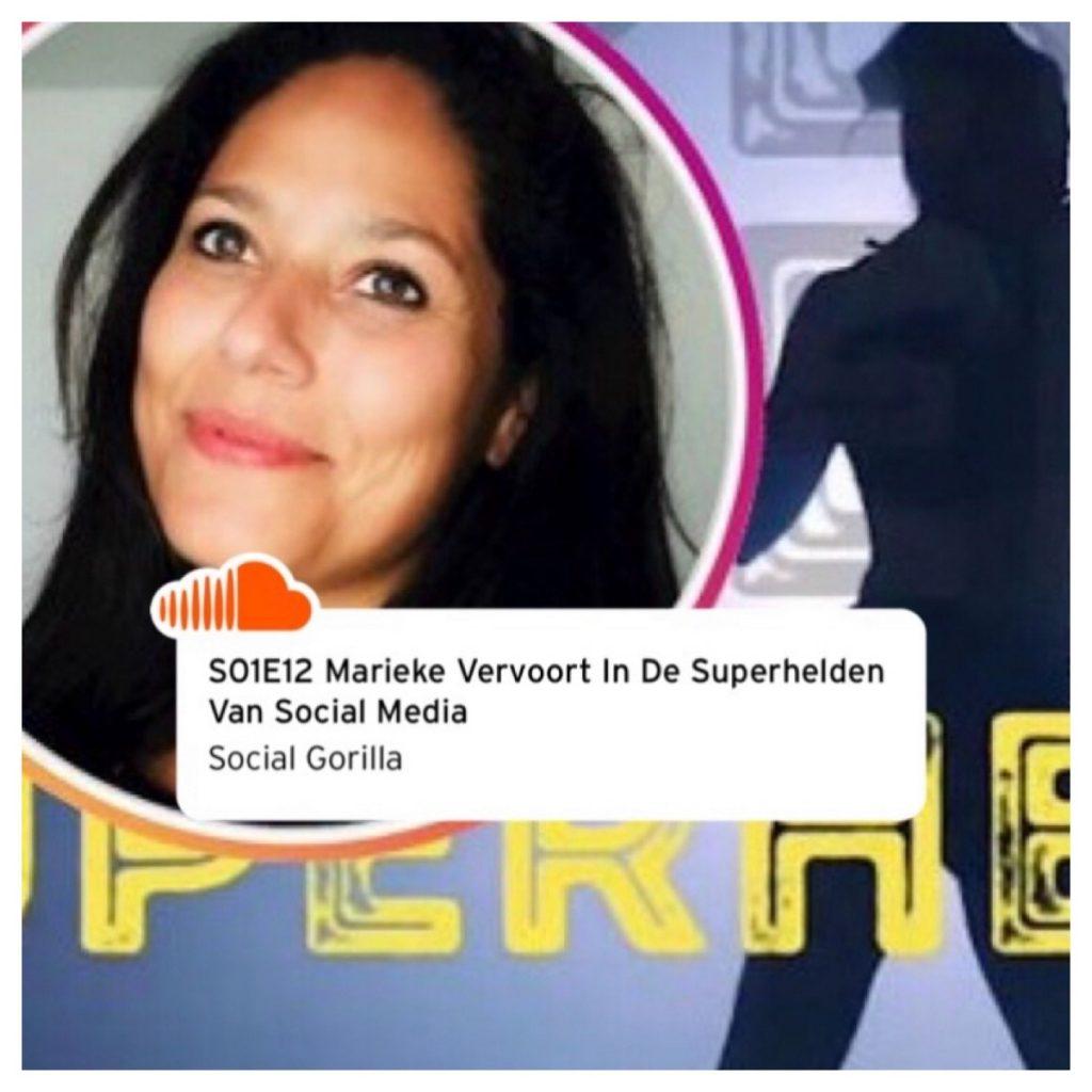 Podcast Superhelden van Social Media